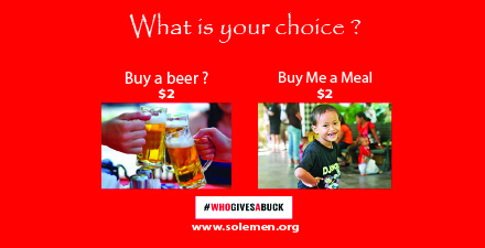 Click to Donate for Solemen